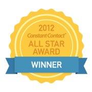 Constant Contact Winners Badge 2012