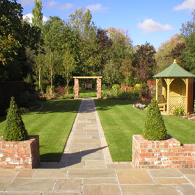 Astek garden design and build landscape gardening york for Garden design york uk