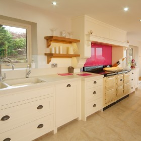 Scammells White Traditional Kitchen
