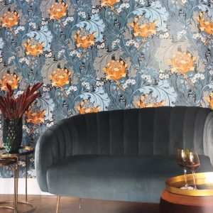 casadeco Oxford wallpaper available from Fabric Gallery & Interiors