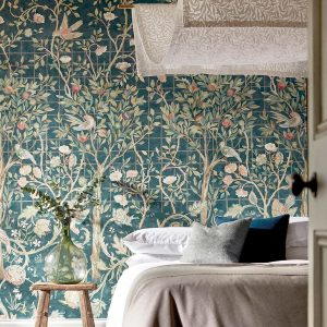 Melsetter by William Morris available from Fabric Gallery & interiors