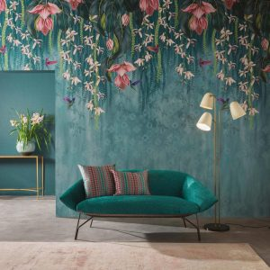 Folium by Osborne & Little available from Fabric Gallery & Interiors